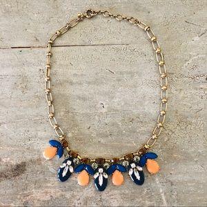 ♥️ J. Crew ♥️ Blue Stone Necklace